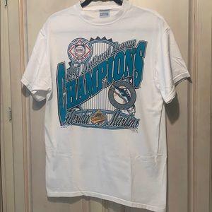 VTG '97 Florida Marlins World Series Champions Tee